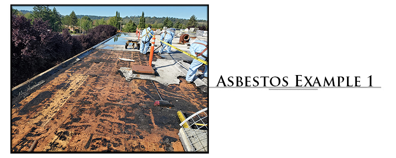 Residential Asbestos Cleaning Example #1