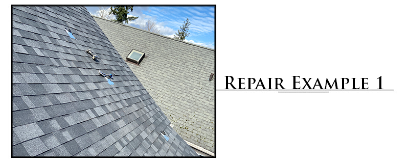 Commercial Composition Roofing Repair Example #1