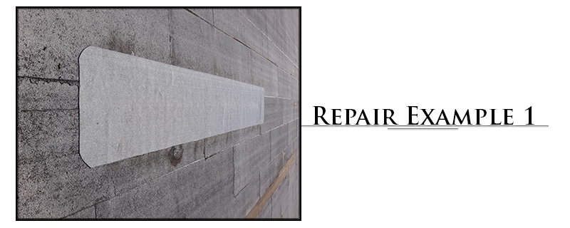 Commercial Torchdown Roofing Repair Example #1