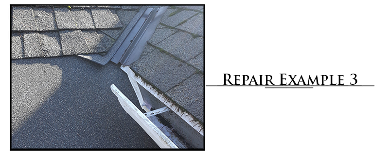 Residential Composition Roofing Repair Example #3