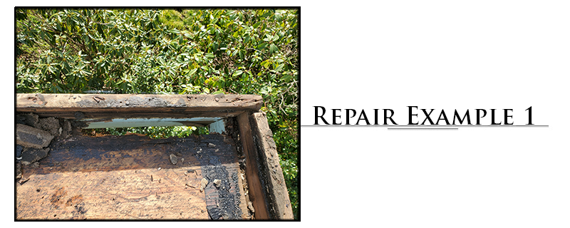 Residential Torchdown Roofing Repair Example #1