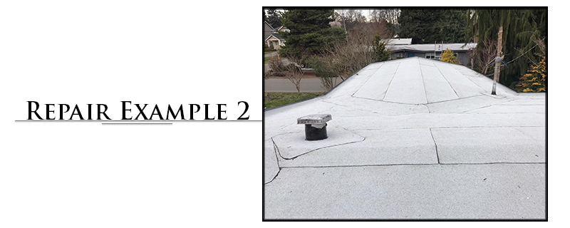 Residential Torchdown Roofing Repair Example #2